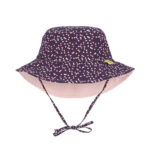 Lassig Swimwear 2019 - Girls - Reversible Sun Protection Hat - Multidots