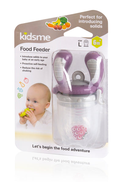 Kidsme - Food Feeder - Grey