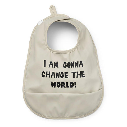 Elodie Details - Baby Bib - Change The World