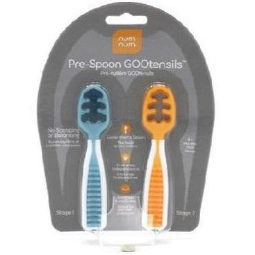 Num Num - Pre-Spoon GOOtensil Blue/Orange