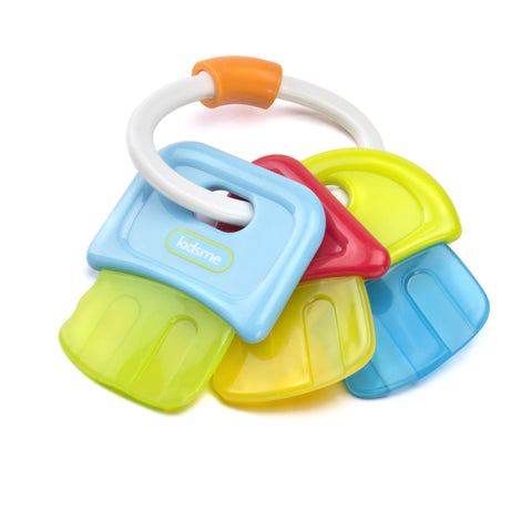 "<span style=""font-size:200%;color:yellow;"">★</span> NEW Kidsme - Baby Toys - Teether Keys"
