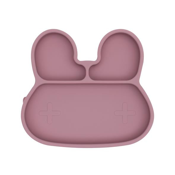 We Might Be Tiny - Bunny Stickie Plate - Dusty Rose