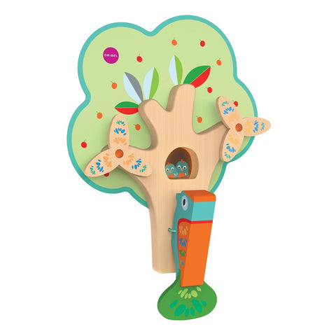 "<span style=""font-size:200%;color:yellow;"">★</span> NEW Oribel - Vertiplay Wall Toys - Busy Woodpecker"