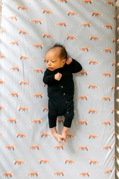 Copper Pearl -Swift Premium Crib Sheet
