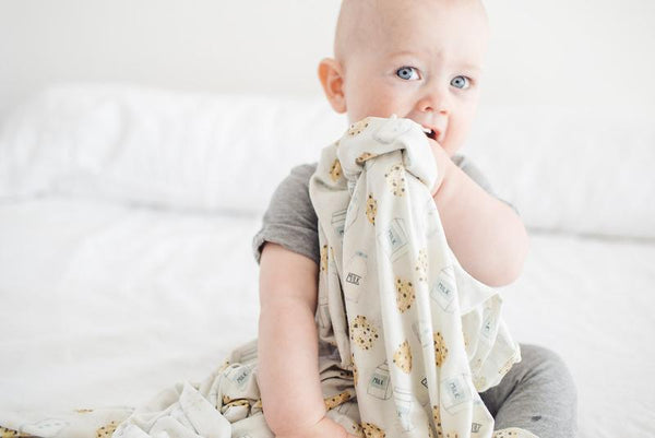 Copper Pearl - Chip Swaddle Blanket