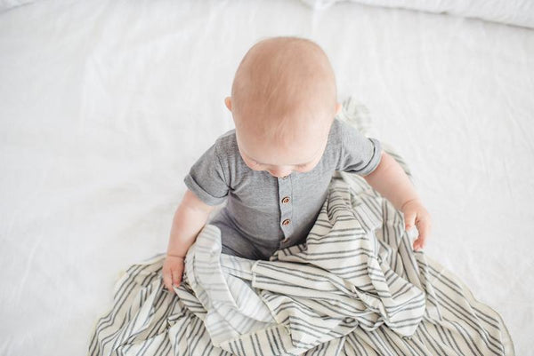 Copper Pearl - Midtown Swaddle Blanket
