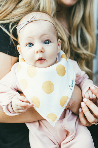 Copper Pearl - Blush Bibs