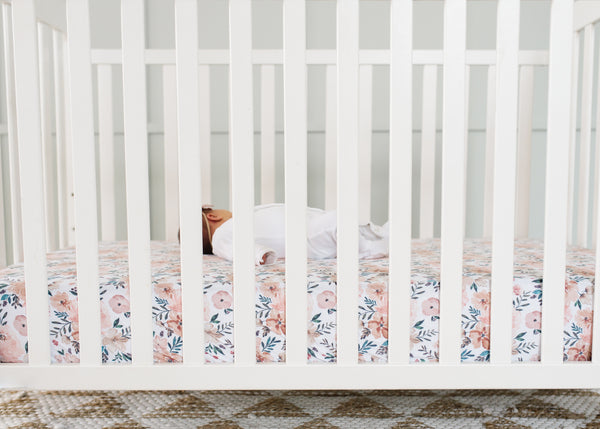 Copper Pearl - Autumn Premium Crib Sheet