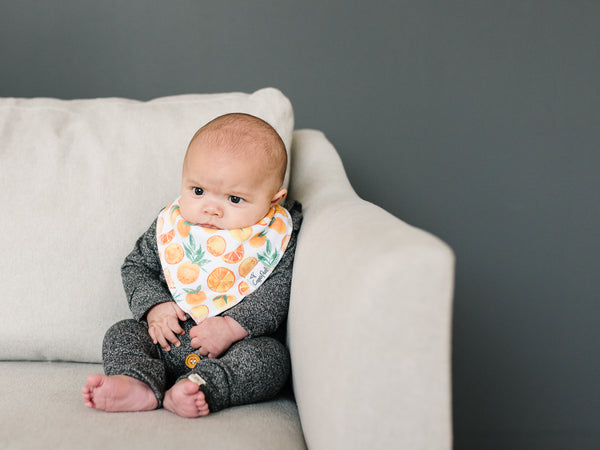 Copper Pearl - Citrus Bibs