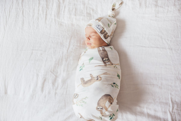 Copper Pearl - Noah Swaddle Blanket