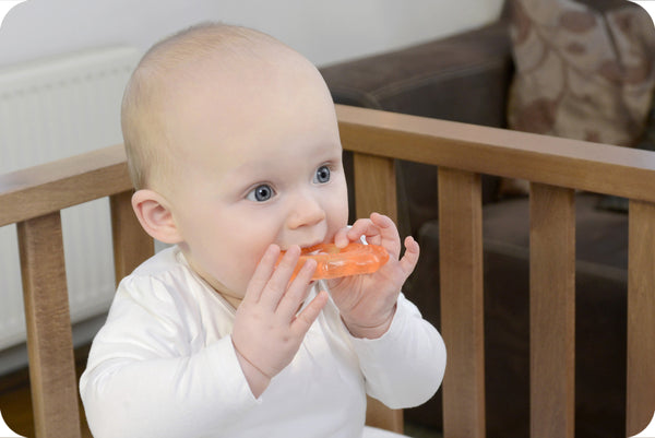 Kidsme - Baby Toys - Water Filled Soother Orange
