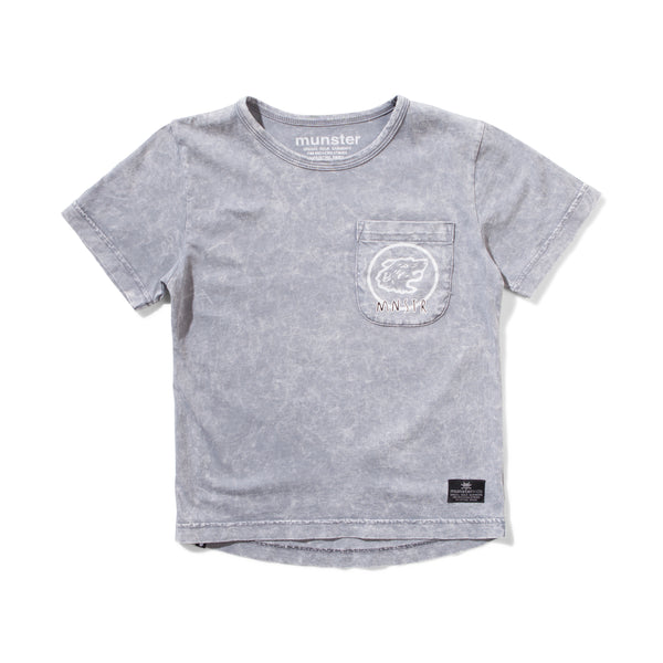 Munsterkids SS32-Pak Washed Grey