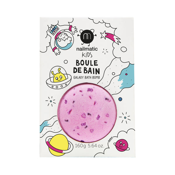 Nailmatic- Colouring and soothing bath bomb for kids - Cosmic
