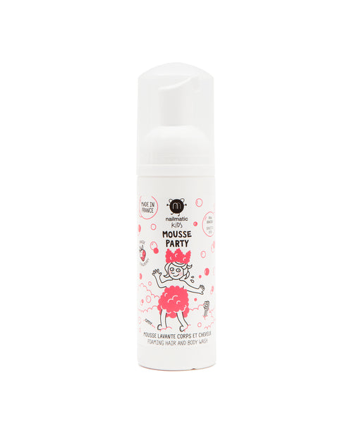 Nailmatic- Mousse party - Strawberry Hair & Body Foam