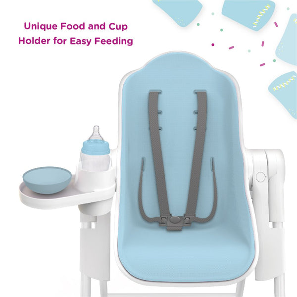Oribel - Blueberry Marshmallow - Cocoon High Chair