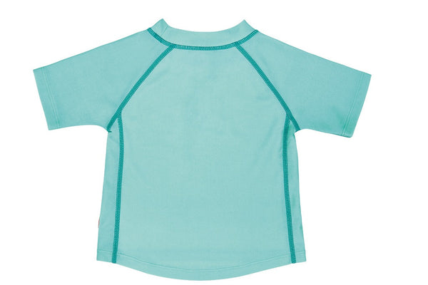 Lassig Swimwear - Girls - Short Sleeve Rashguard Aqua
