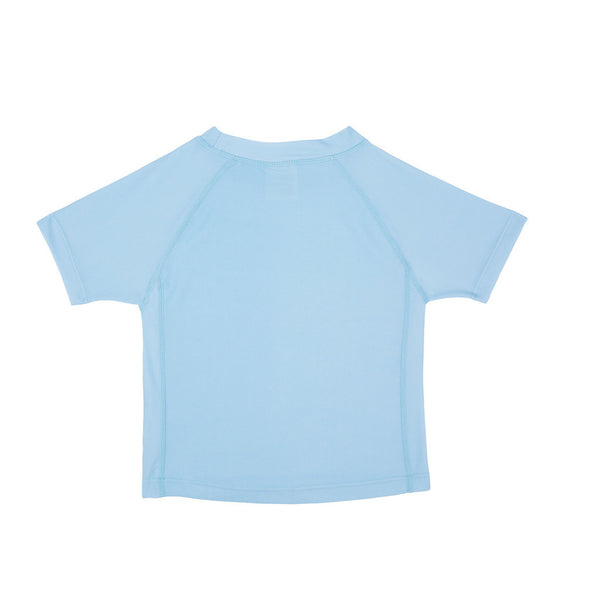 Lassig Swimwear - Boys - Short Sleeve Rashguard Light Blue