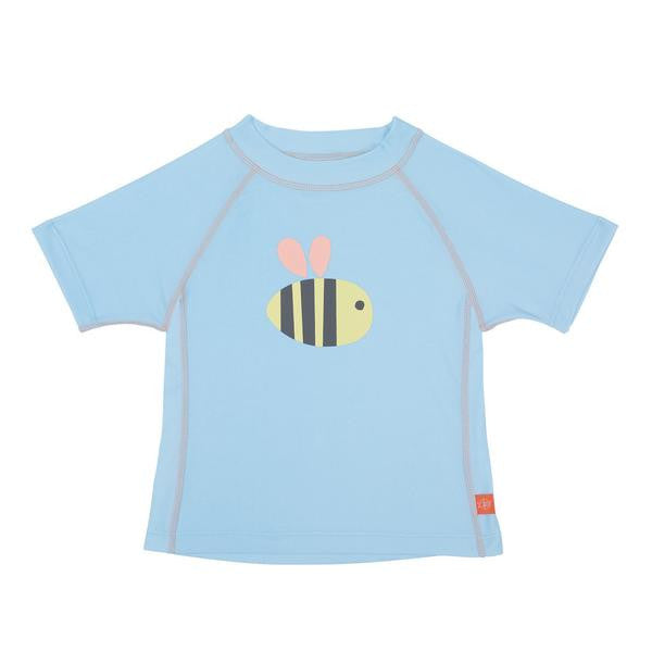 Lassig Swimwear - Girls - Short Sleeve Rashguard Bumble Bee
