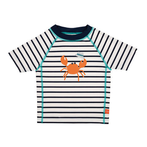 Lassig Swimwear 2018 - Boys - Short Sleeve Rashguard Sailor Navy