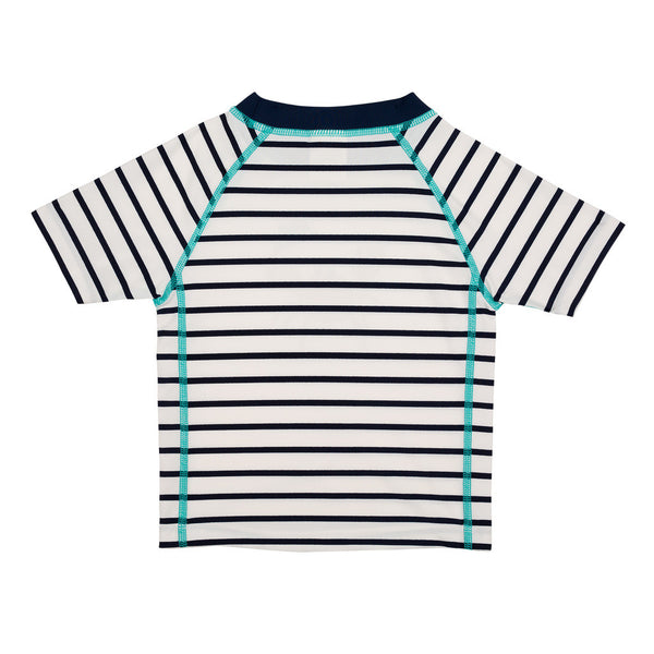Lassig Swimwear - Boys - Short Sleeve Rashguard Sailor Navy
