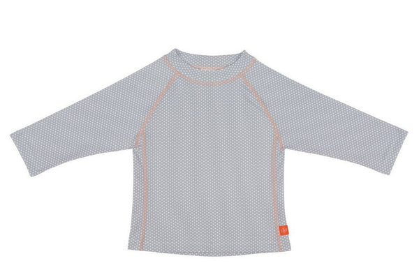 Lassig Swimwear - Girls - Long Sleeve Rashguard Polka Dots Grey