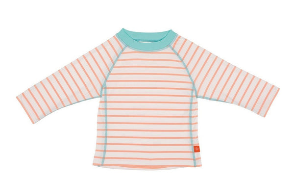 Lassig Swimwear - Girls - Long Sleeve Rashguard Sailor Peach