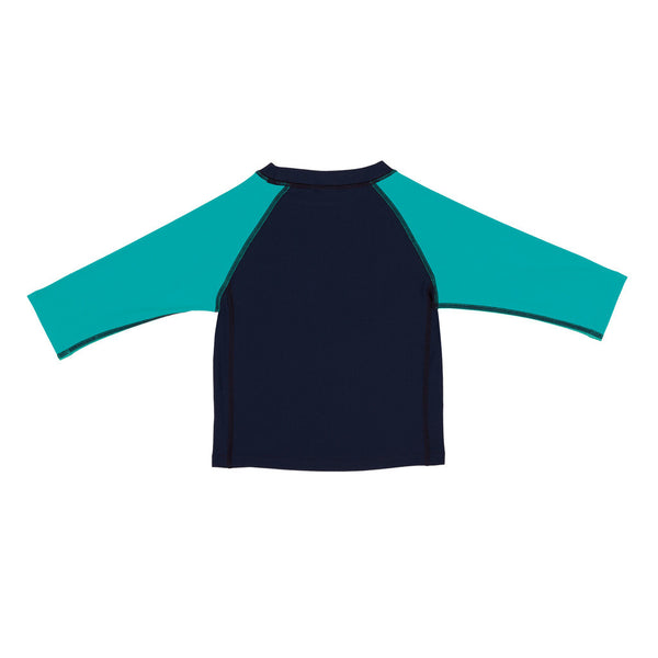 Lassig Swimwear - Boys - Long Sleeve Rashguard Blue Whale