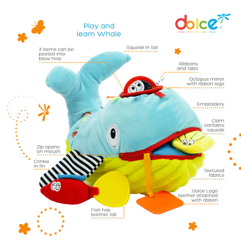 Dolce - Play and Learn Whale