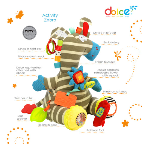 Dolce - Activity Zebra