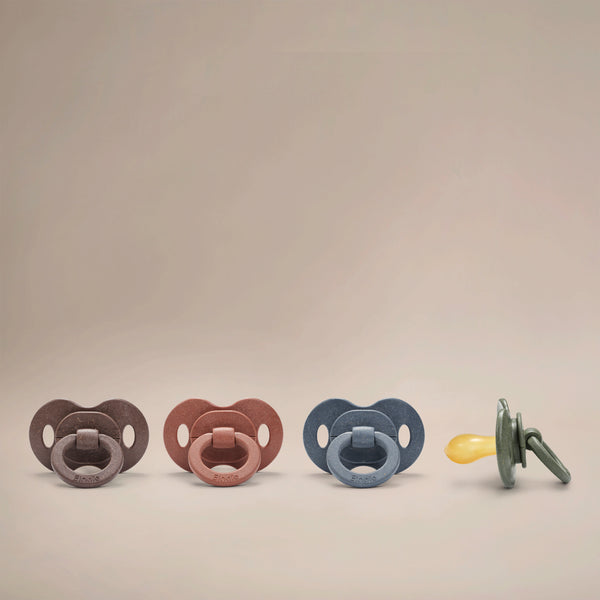 Elodie Details - Bamboo Pacifier Natural Rubber - Rebel Green
