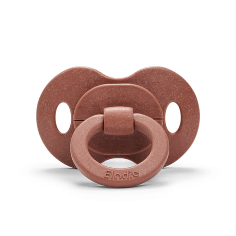 Elodie Details - Bamboo Pacifier Natural Rubber - Burned Clay