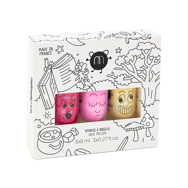 Nailmatic- Set of 3 nail polishes – Magic Forest