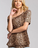 Leopard Off Shoulder
