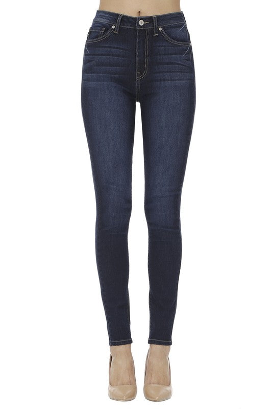 Curvy Super Skinny High Rise Jean