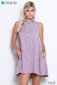 Lavendar Tank Dress