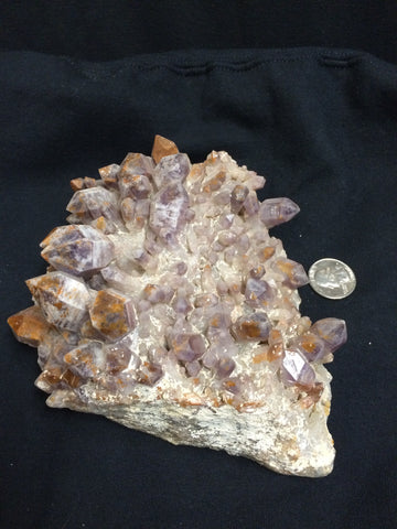 Phantom Hematite coated Amethyst
