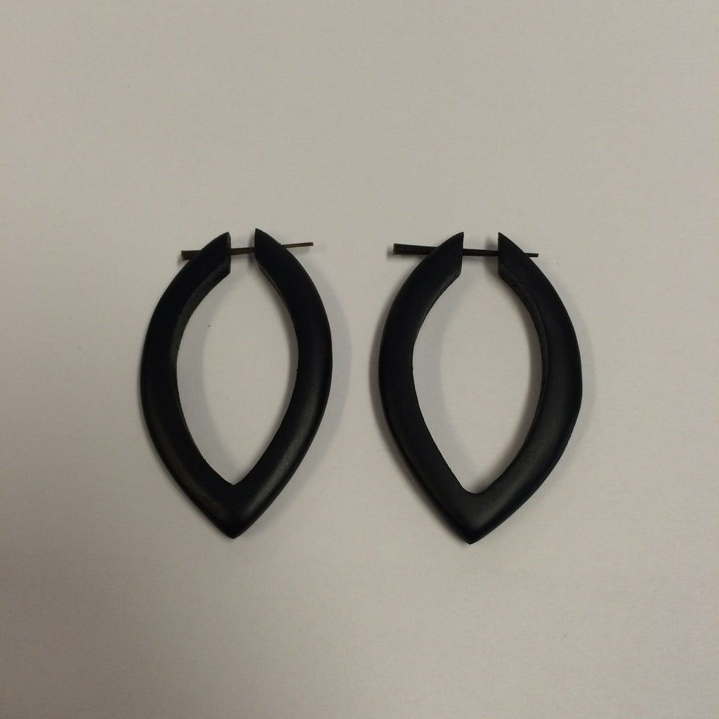 Coconut Peg Earrings