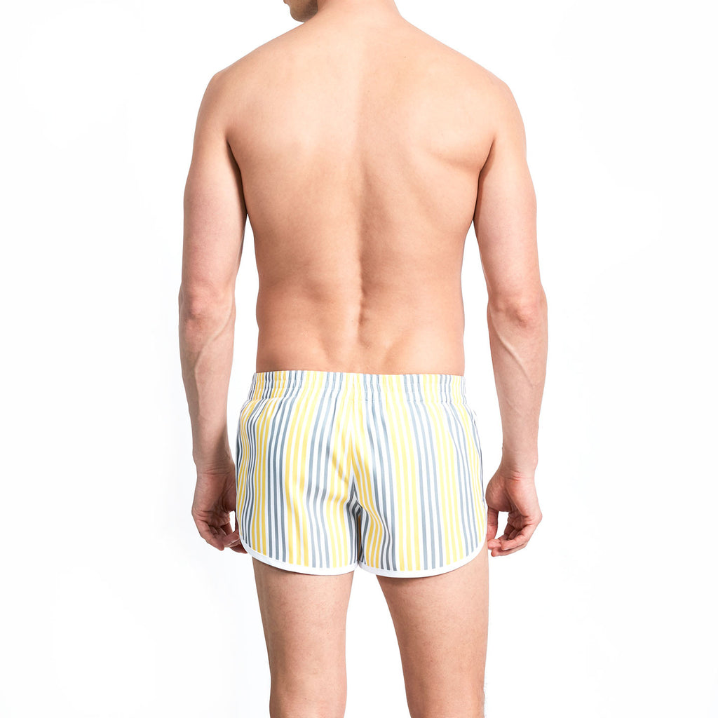 BRADEN - Yellow & Chrome Boat Stripe