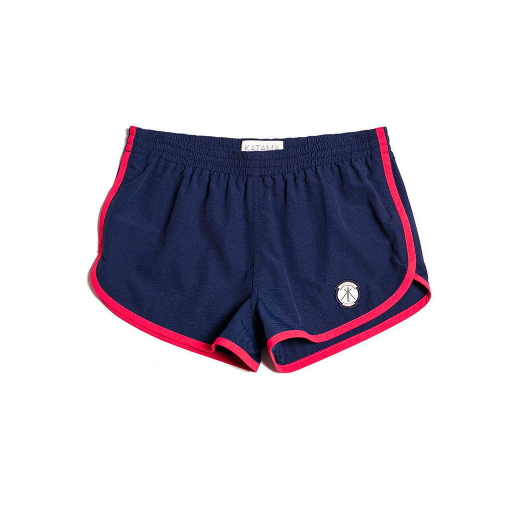 BRADEN - True Navy with Red Piping