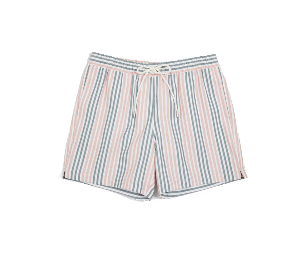 EMERSON - Smokey Pink Boat Stripe