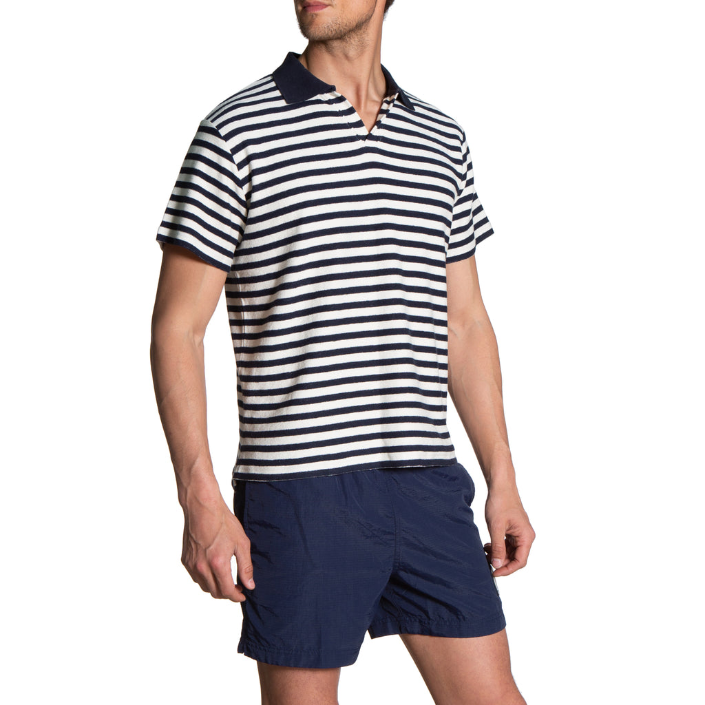 Henry Polo - Navy Stripe