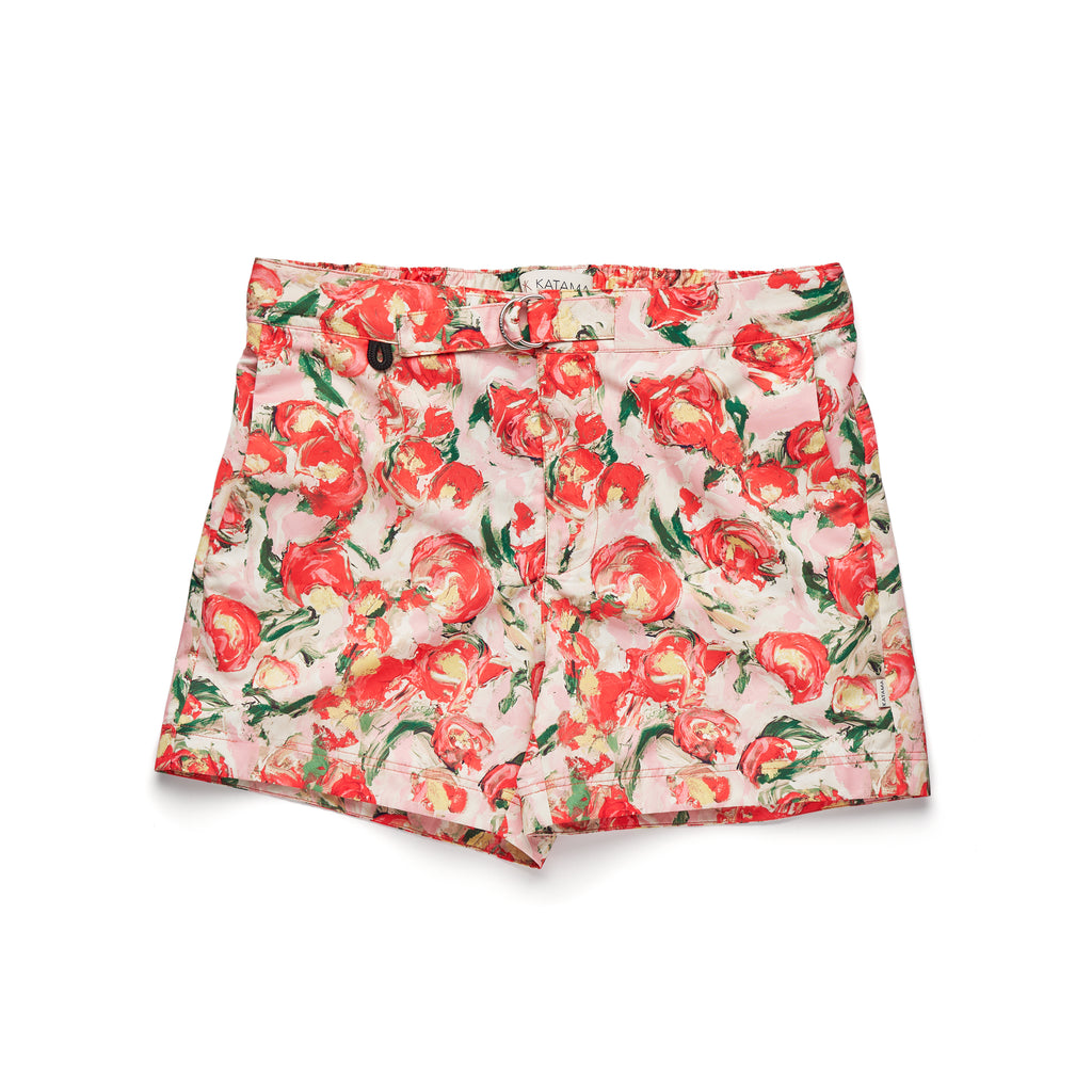 JACK - FLORAL IN FRESH RED