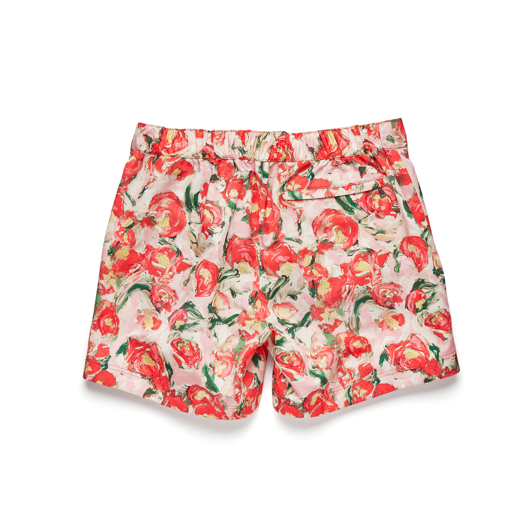 JACK - STEVE LYONS FLORAL PRINT IN FRESH RED