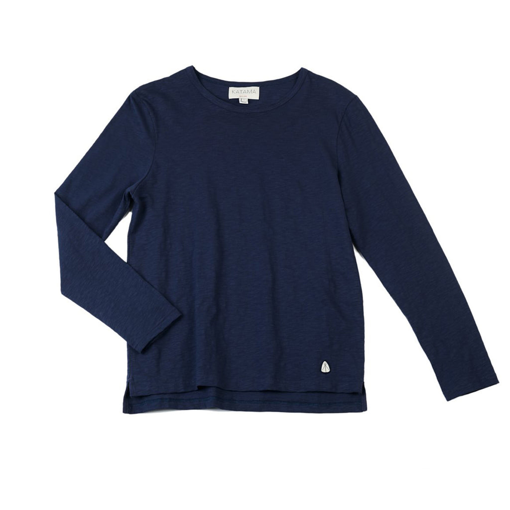 Jordan - Long Sleeve Layering in Navy