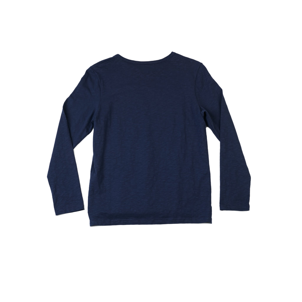 JORDAN - TRUE NAVY LONG SLEEVE