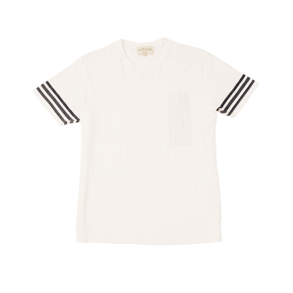 LANCE Printed Logo Bright White