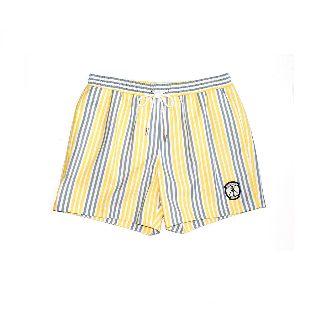EMERSON - Chrome and Yellow Boat Stripe