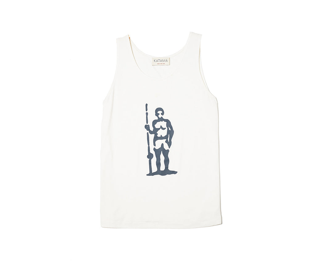 Fishing Rod Sportsman Tank - Navy