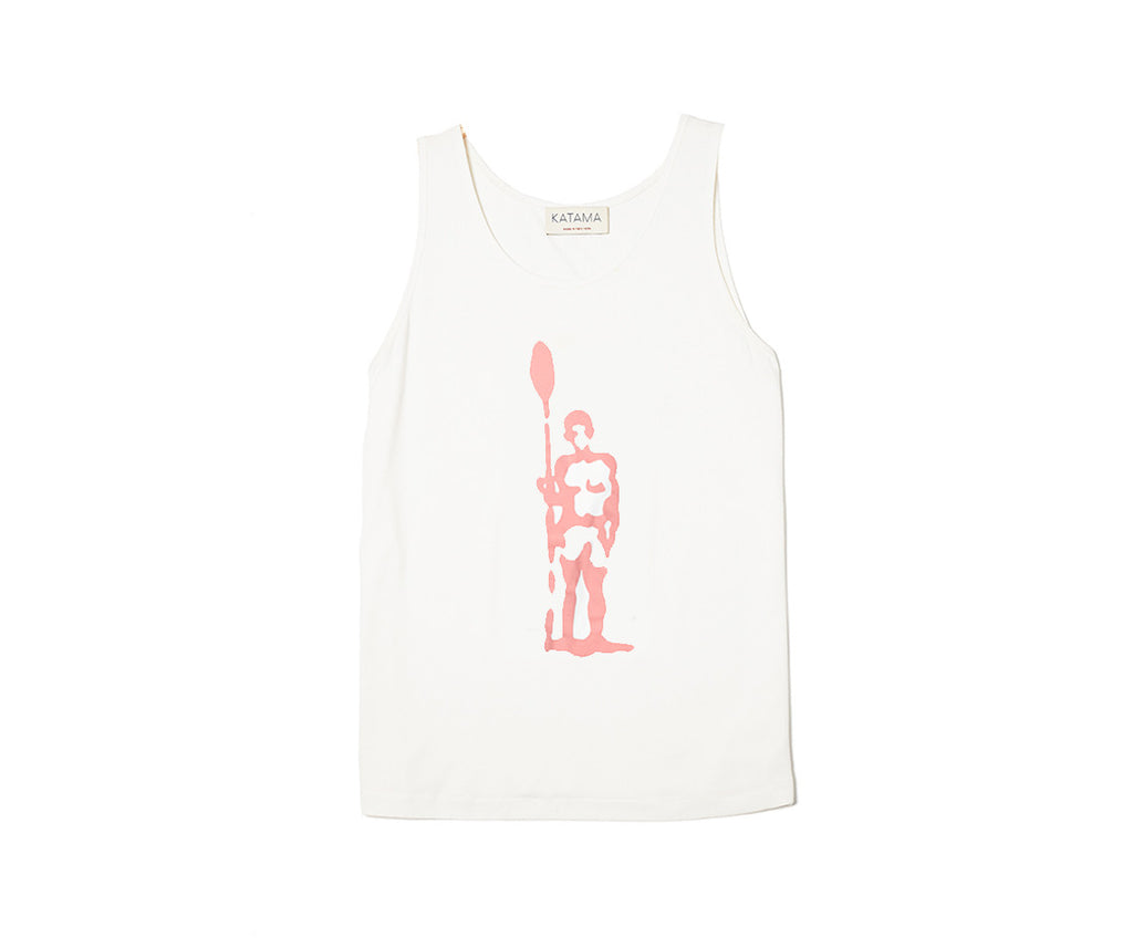 Oar Sportsman Tank - Vineyard Red