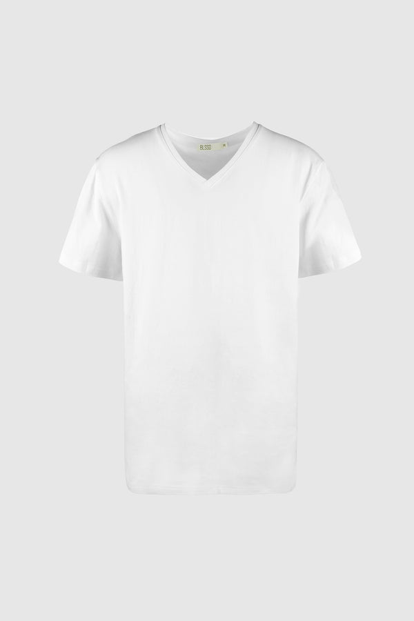 V NECK PAG T-SHIRT